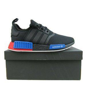 Adidas Originals NMD R1 Black Red Blue Shoes